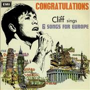 Click here for more info about 'Cliff Richard - Congratulations EP'