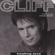 "Cliff Richard Healing Love UK 7"" vinyl"
