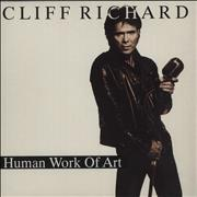 "Cliff Richard Human Work Of Art UK 7"" vinyl"