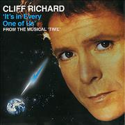 "Cliff Richard It's In Every One Of Us UK 7"" vinyl"