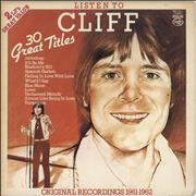 Click here for more info about 'Cliff Richard - Listen To Cliff - White Bordered Sleeve'