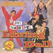 Click here for more info about 'Cliff Richard - Living Doll'