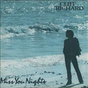 Click here for more info about 'Cliff Richard - Miss You Nights - P/S'