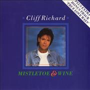 "Cliff Richard Mistletoe & Wine UK 7"" vinyl"