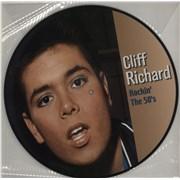 Cliff Richard Rockin' The 50's Netherlands picture disc LP