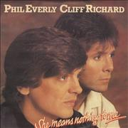 Click here for more info about 'Cliff Richard - She Means Nothing To Me'