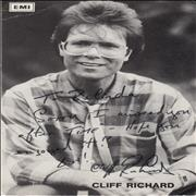 Click here for more info about 'Cliff Richard - Signed Publicity Photograph'