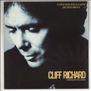 Click here for more info about 'Cliff Richard - Stronger Than That + Signed Print'