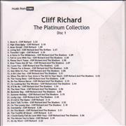 Click here for more info about 'Cliff Richard - The Platinum Collection'