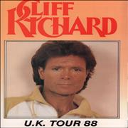 Cliff Richard UK Tour 88 UK tour programme