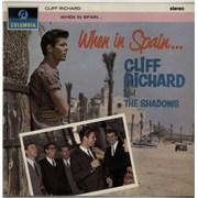 Cliff Richard When In Spain... - 1st UK vinyl LP