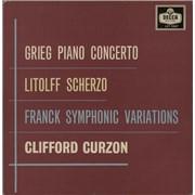 Click here for more info about 'Clifford Curzon - Grieg: Piano Concerto / Franck: Variations Symphoniques / Litoff: Scherzo from Concerto Symphonique'