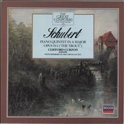 Click here for more info about 'Clifford Curzon - Schubert: Piano Quintet in A Major, Opus 114 ('The Trout')'