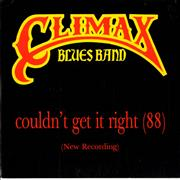 Click here for more info about 'Climax Blues Band - Couldn't Get It Right (88)'