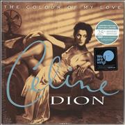 Click here for more info about 'Celine Dion - The Colour Of My Love - 180gm Turquoise Vinyl - Sealed'