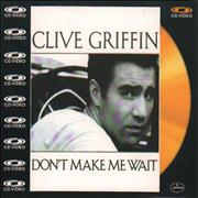 Click here for more info about 'Clive Griffin - Don't Make Me Wait - Cd-Video'