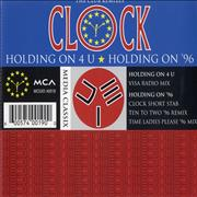 Click here for more info about 'Clock - Holding On 4 U'