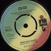 Click here for more info about 'CoCo (Pop) - Bad Old Days - 4-Pr'