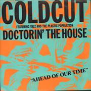 Click here for more info about 'Coldcut - Doctorin' The House - White Label'