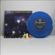 Click here for more info about 'Coldplay - Christmas Lights - Blue Vinyl - Sealed'