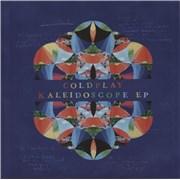 "Coldplay Kaleidoscope EP - Blue Vinyl UK 12"" vinyl"
