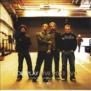 Click here for more info about 'Coldplay - Live 2003 DVD - Display Cards'