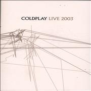 Click here for more info about 'Coldplay - Live 2003'