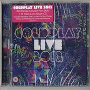 Click here for more info about 'Coldplay - Live 2012'