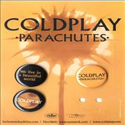 Click here for more info about 'Coldplay - Parachutes Badge Set - 3 Badges'