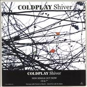 Click here for more info about 'Coldplay - Shiver'
