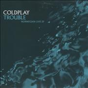 Click here for more info about 'Coldplay - Trouble - Norwegian Live EP'