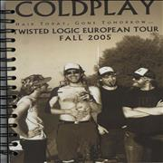 Click here for more info about 'Coldplay - Twisted Logic Tour 2005 - Tour Itineraries'