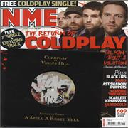Click here for more info about 'Coldplay - Violet Hill + Magazine'