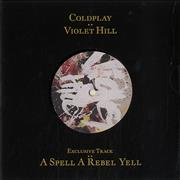 Click here for more info about 'Coldplay - Violet Hill'