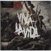 Coldplay Viva La Vida or Death And All His Friends UK vinyl LP