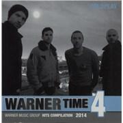 Coldplay Warner Time 4 Japan CD album Promo