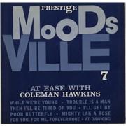 Coleman Hawkins At Ease With Coleman Hawkins UK vinyl LP