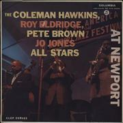 Click here for more info about 'Coleman Hawkins - At Newport - Factory Sample'
