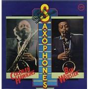 Coleman Hawkins Blue Saxophones UK vinyl LP