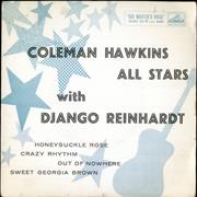 Click here for more info about 'Coleman Hawkins All Stars With Django Reinhardt EP'