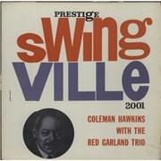 Coleman Hawkins Coleman Hawkins With The Red Garland Trio UK vinyl LP