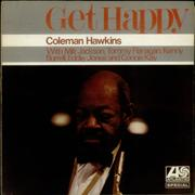 Coleman Hawkins Get Happy UK vinyl LP