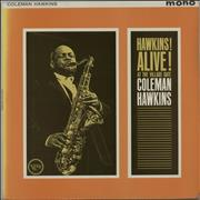 Coleman Hawkins Hawkins! Alive! At The Village Gate UK vinyl LP