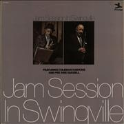 Coleman Hawkins Jam Session In Swingville UK 2-LP vinyl set