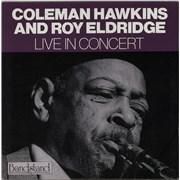 Coleman Hawkins Live In Concert Italy vinyl LP