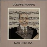 Coleman Hawkins Masters of Jazz Vol. 12 Sweden vinyl LP