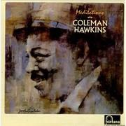 Coleman Hawkins Meditations UK vinyl LP