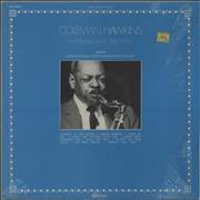 Coleman Hawkins Rare Broadcasts Area 1950 France vinyl LP
