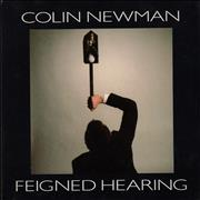 Click here for more info about 'Colin Newman - Feigned Hearing'