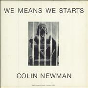Click here for more info about 'Colin Newman - We Means We Starts'
